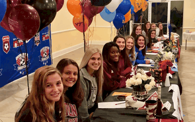 Historic Signing Day Girls Development Academy