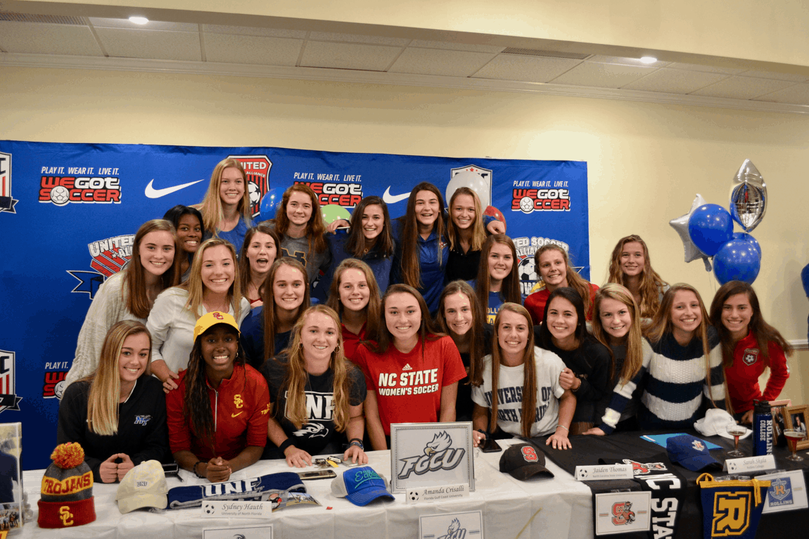 CCSC Girls Sign College Letters of Intent