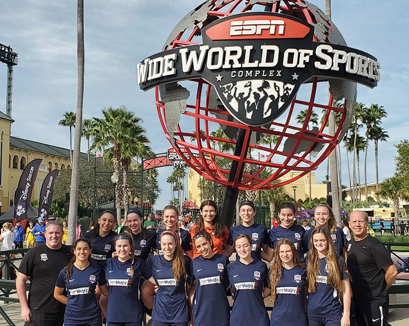 CCSC Tournament Sol Red Disney Showcase